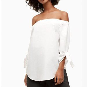 BABATON | Aritzia Malik Off the Shoulder Blouse